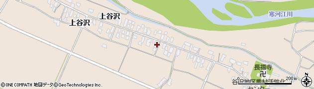 山形県寒河江市谷沢280周辺の地図