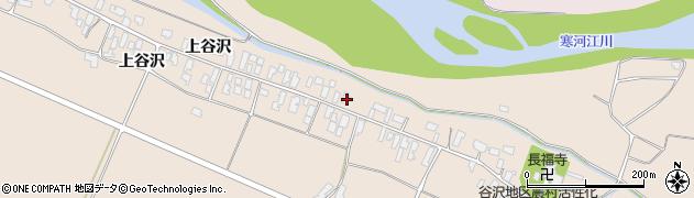 山形県寒河江市谷沢278周辺の地図