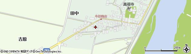 山形県西村山郡河北町田井116周辺の地図