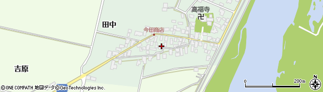 山形県西村山郡河北町田井18周辺の地図