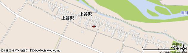 山形県寒河江市谷沢207周辺の地図