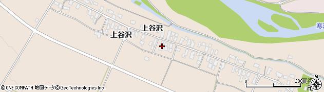 山形県寒河江市谷沢206周辺の地図