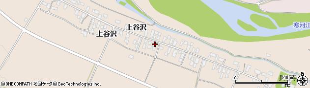山形県寒河江市谷沢208周辺の地図