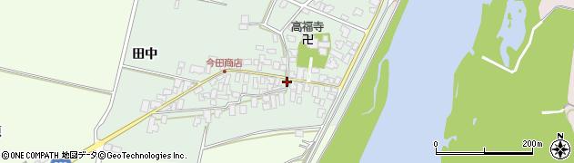 山形県西村山郡河北町田井9周辺の地図
