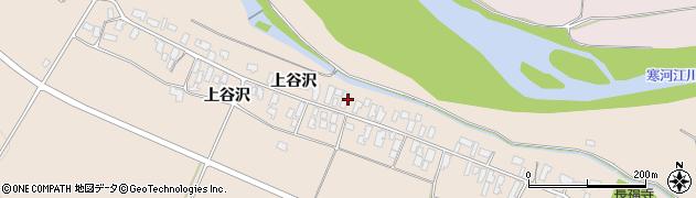 山形県寒河江市谷沢204周辺の地図