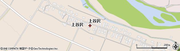 山形県寒河江市谷沢198周辺の地図