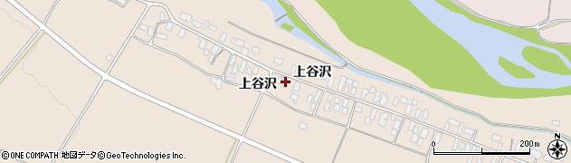 山形県寒河江市谷沢197周辺の地図