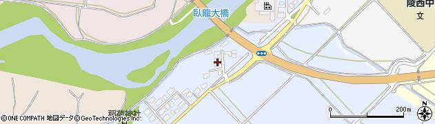 山形県寒河江市清助新田64周辺の地図