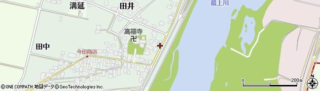 山形県西村山郡河北町田井56周辺の地図