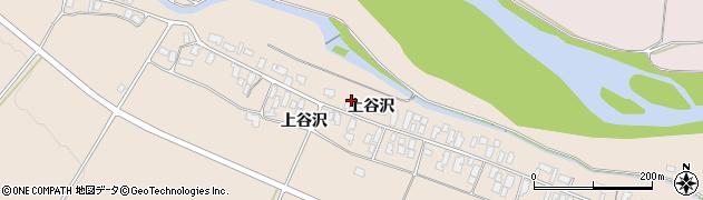 山形県寒河江市谷沢199周辺の地図