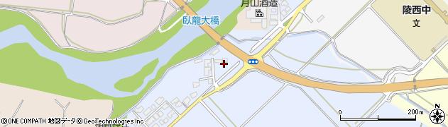 山形県寒河江市清助新田105周辺の地図