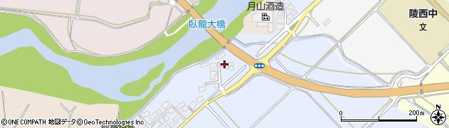 山形県寒河江市清助新田106周辺の地図
