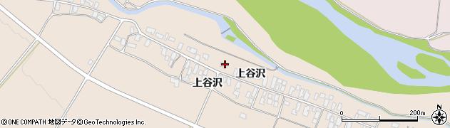 山形県寒河江市谷沢195周辺の地図