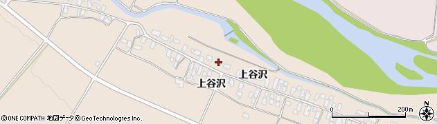 山形県寒河江市谷沢194周辺の地図