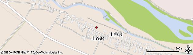 山形県寒河江市谷沢193周辺の地図