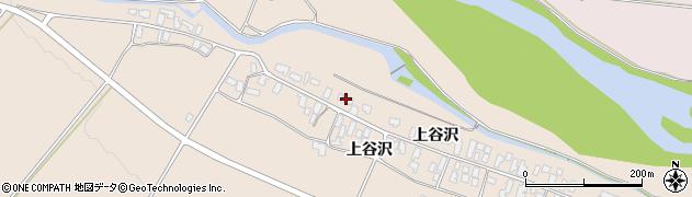 山形県寒河江市谷沢114周辺の地図