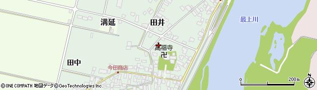 山形県西村山郡河北町田井35周辺の地図