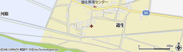 山形県寒河江市道生82周辺の地図