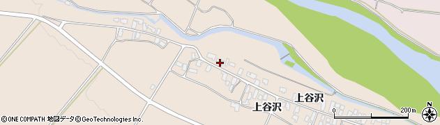 山形県寒河江市谷沢110周辺の地図