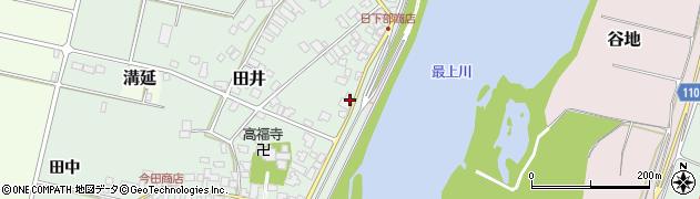 山形県西村山郡河北町田井63周辺の地図