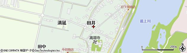 山形県西村山郡河北町田井153周辺の地図