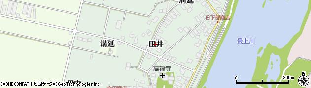 山形県西村山郡河北町田井143周辺の地図