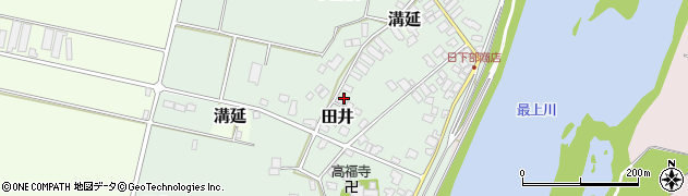 山形県西村山郡河北町田井中曽根186周辺の地図