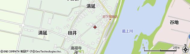 山形県西村山郡河北町田井169周辺の地図