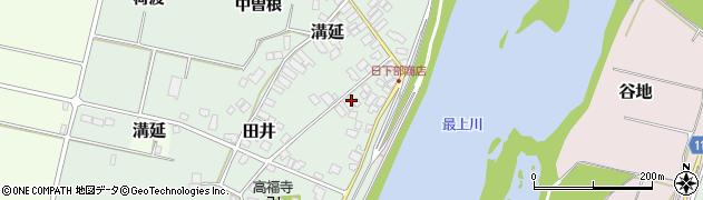 山形県西村山郡河北町田井137周辺の地図