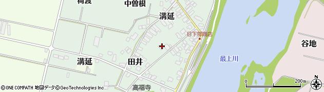 山形県西村山郡河北町田井中曽根179周辺の地図