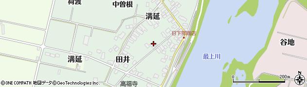 山形県西村山郡河北町田井中曽根176周辺の地図