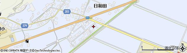 山形県寒河江市日和田73周辺の地図