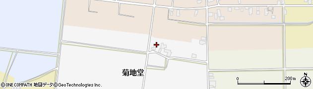 山形県寒河江市菊地堂91周辺の地図