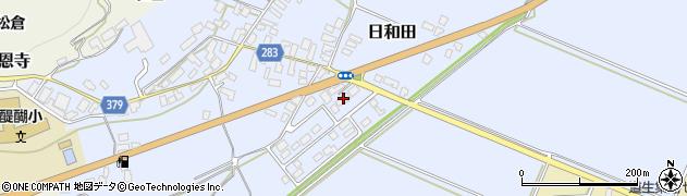 山形県寒河江市日和田68周辺の地図