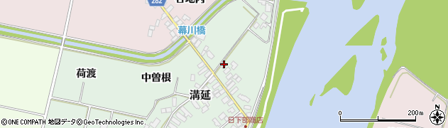 山形県西村山郡河北町田井下宿97周辺の地図