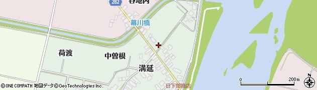 山形県西村山郡河北町田井231周辺の地図