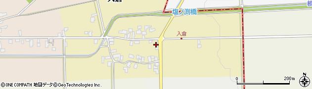 山形県寒河江市入倉81周辺の地図