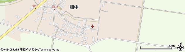 山形県西村山郡河北町畑中147周辺の地図