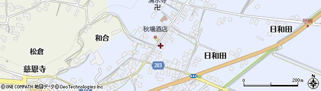 山形県寒河江市日和田529周辺の地図