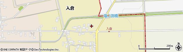 山形県寒河江市入倉194周辺の地図