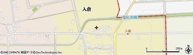 山形県寒河江市入倉119周辺の地図