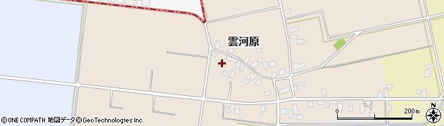 山形県寒河江市雲河原222周辺の地図