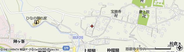 山形県寒河江市慈恩寺329周辺の地図