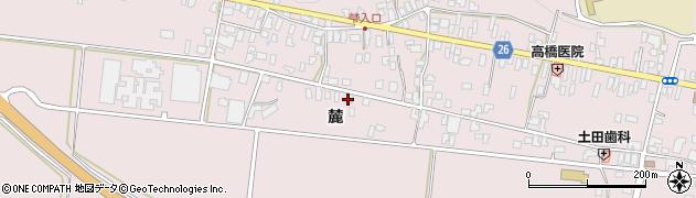 山形県寒河江市白岩1187周辺の地図