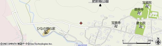 山形県寒河江市慈恩寺10周辺の地図