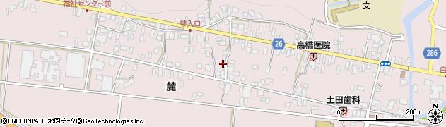 山形県寒河江市白岩309周辺の地図