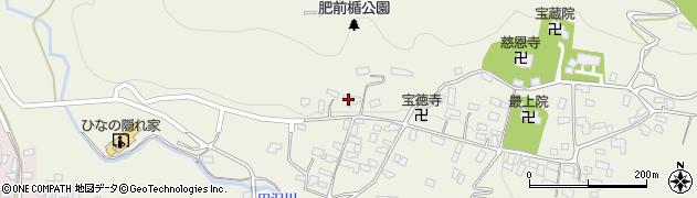 山形県寒河江市慈恩寺7周辺の地図