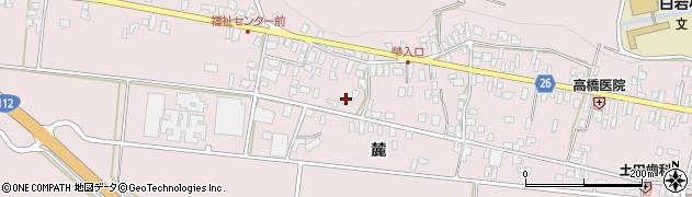 山形県寒河江市白岩360周辺の地図