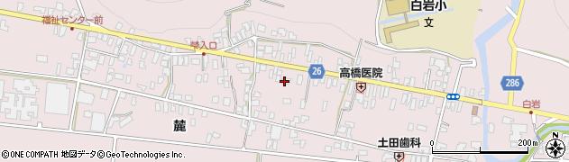 山形県寒河江市白岩269周辺の地図