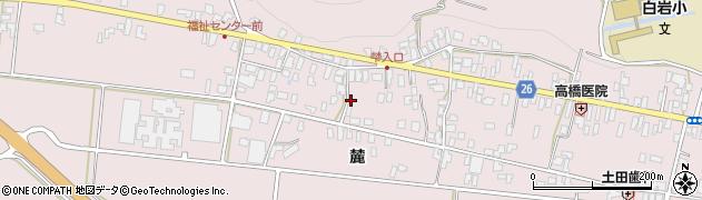 山形県寒河江市白岩351周辺の地図